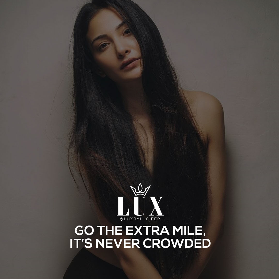 Always Go the Extra Mile
