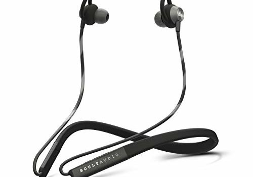 Boult Audio ProBass Buster Wireless Neckband Earphones with Fast Charging & Mic, IPX5 Sweatproof with Deep Bass Headphones