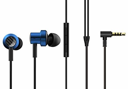 Mi Dual Driver in-Ear Earphones with Mic, Crisp Vocals & Rich Bass, Tangle-Free Cable, One Touch Voice Assistant (Blue)
