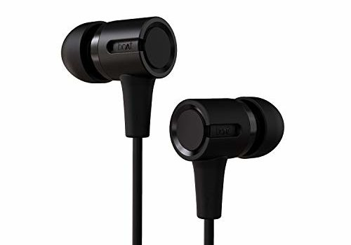 boAt BassHeads 102 Wired Earphones with Immersive Audio, Multi-Function Button, in-line Microphone & Perfect Length Cable (Charcoal Black)
