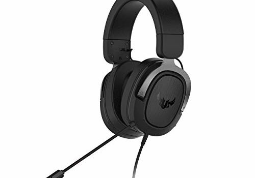 ASUS TUF H3 Gaming Headset H3 – Discord, TeamSpeak Certified |7.1 Surround Sound | Gaming Headphones with Boom Microphone for PC, Playstation 4, Nintendo Switch, Xbox One, Mobile Devices