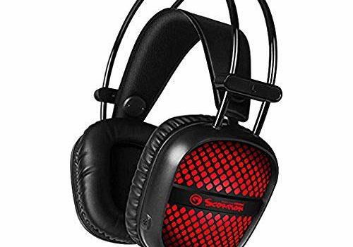 Marvo Gaming Headset with Backlight (Black)