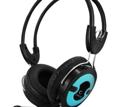 Circle Concerto 202 Multimedia Headphones with mic (Blue)