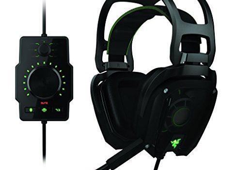(Renewed) Razer Tiamat Over Ear 7.1 Surround Sound PC Gaming Headset