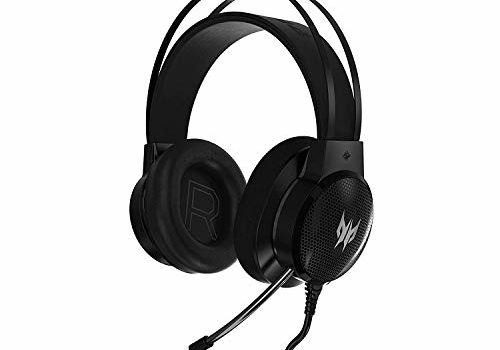 Acer Predator Galea 300 Gaming Headset with True Harmony Technology, 40 mm Driver Bio-Cellulose and Retractable Omni-Directional Microphone