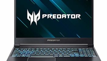 Acer Predator Triton 300 PT315-51 2019 15.6-inch Gaming Laptop (9th Gen Core i5 9300H/8GB/1TB HDD + 256GB SSD/Windows 10 Home/4GB NVIDIA GeForce GTX 1650 Graphics), Abyssal Black