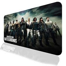 NSinc - XXL Random Gaming Mouse Pad with Nonslip Base, Thick, Waterproof & Foldable Mat for Desktop, Laptop, Keyboard, Consoles & More, Random Colour and Design