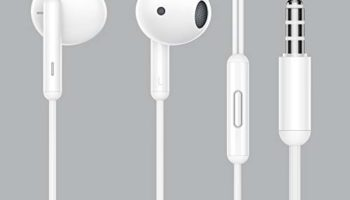 realme Buds Classic Wired Earphones with HD Microphone White