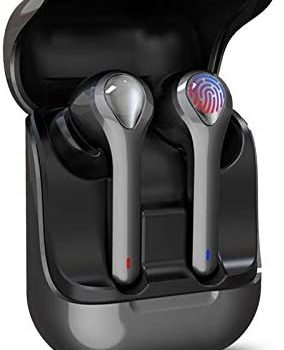 Wireless Earbuds Hi-Fi Bluetooth Headphones with USB-C Fast Charging Case TWS Stereo Earphones in-Ear Mic Headset 3D Stereo Noise Cancelling Deep Bass for Sport