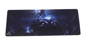 VRMD Large XXL Gaming Mouse Pad with Nonslip Base, for Desktop, Laptop, Keyboard, More, Customized League of Legends Design
