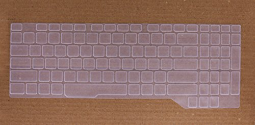 Saco Keyboard Silicon Protector for ROG Strix GL503 and GL703 Gaming laptops - (Transparent)