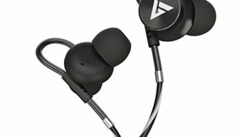 Boult Audio BassBuds Loop in-Ear Wired Earphones with NO Magnet (Upgraded Model) and 12mm Powerful Driver for Extra Bass with Customizable Ear Loop & Mic (Grey)