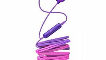 Philips SHE2405PP/00 Upbeat inear Earphone with Mic (Purple)