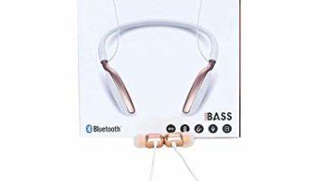 GROSTAR- JB-30BT Wireless Neckband Bluetooth Earphone Headset Earbud Portable Headphone Handsfree Sports Running Sweatproof Compatible Android Smartphone Noise Cancellation