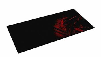 Famous Quality Fordable Mat Gaming Mouse Pad with Nonslip Base, Thick, Comfy, Waterproof Make (Black, Large XXL)