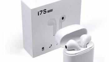 RANDOMER SH12 TWS Headphone Twins Earphone Stereo Bluetooth Headset (White, in The Ear)