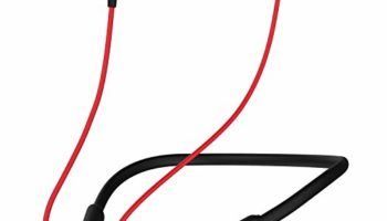 Noise Tune Active Bluetooth Wireless Neckband Earphones with Dynamic Drivers for Immersive Music Experience, IPX5 Sweat-Proof & Rain-Proof, 10 Hours of Playtime (Hot Red)