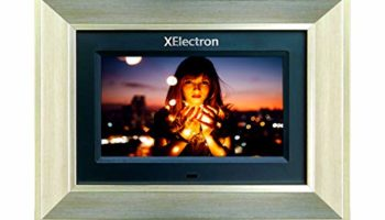 XElectron 7 inch Metallic IPS Digital Photo Frame with 1080P Support Resolution