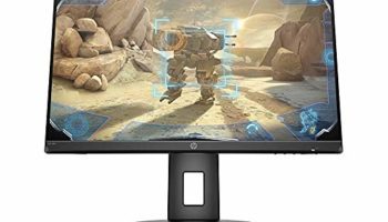 (Renewed) HP 23.8-inch Borderless Full HD Gaming Monitor -AMD Free Sync, 144Hz Refresh Rate, 1ms Response time, 250 Nits, Adaptive Sync, Integrated Speakers with HDMI, Display Ports - HP 24x Display (5ZU99AA)