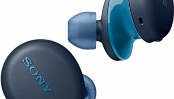 Sony WF-XB700 Truly Wireless Extra Bass Bluetooth Earbuds with 18 Hours Battery Life, True Wireless Earbuds with Mic for Phone Calls, Quick Charge, BT Ver 5.0 (Blue)