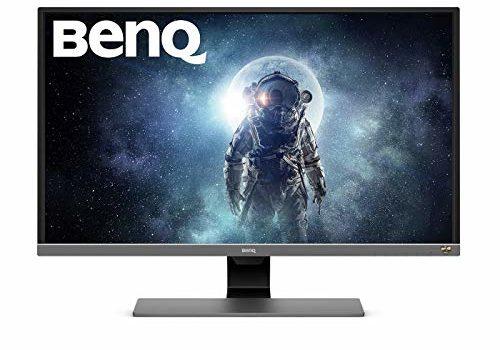 BenQ 31.5 inch(80.01 cm) Gaming Monitor - Eye Care Technology, 4K, HDR - EW3270U (Black)