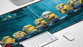 OTOG Large Full Table Size Video Gaming Mouse Pad (700x300) cm Minions Mouse pad