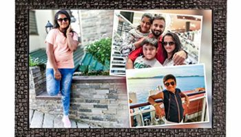 SRK GROUP OF DIGITAL LAB Personalized HD Collage Photo Frame for Wall Decor (Multicolor, 8x12 Inch)