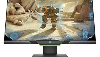 HP 25x 144Hz Full HD 25-Inch Gaming Monitor (1920 x 1080) NVIDIA G-Sync & AMD FreeSync Compatible, 1 ms Response time
