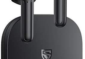 SoundPEATS Wireless Earbuds Bluetooth V5.2 Headphones with Qualcomm QCC3040 Wireless Earphones, TrueWireless Mirroring, 4-Mic Tech and cVc 8.0 Noise Cancellation, aptX Codec, Total 25 Hours - TrueAir2