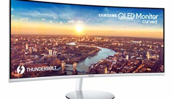 """Samsung LC34J791WTWXXL 34"""" Wide ScreenThunderbolt 3 Curved Monitor 3440 x 1440"""