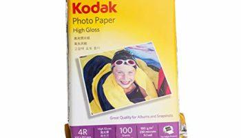 Kodak 180 GSM 4R (4x6) Photo Paper High Glossy