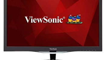 ViewSonic VX2457-mhd (24 Inch) Full HD LED 1080p, 1ms Gaming Monitor, HDMI & VGA, Refresh Rate 75 Hz, Eye Care Technology, Flicker-Free and Blue Light Filter