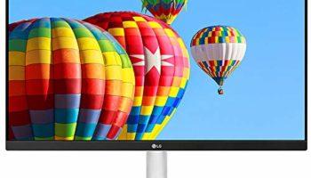 LG 24-inch (60.96 cm) Full HD IPS Monitor - 24MK600M (White)