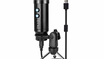 COOLCOLD UD-900FX USB Condenser Microphone, Studio Mic, Professional Podcast, Cardioid Adjustable Stand for Mac Windows PC/Laptop Voice Recording, Streaming, YouTube Video, Gaming etc.