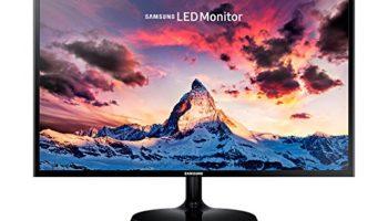 Samsung 27 inch (68.6 cm) LED Backlit Computer Monitor - Full HD, Super Slim AH-IPS Panel with VGA, HDMI Ports - LS27F350FHWXXL (Black)