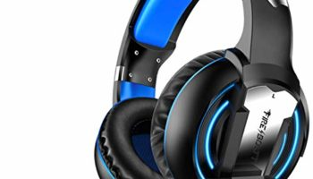 Fire-Boltt BGH1000 Wired Headset Gaming Headphones with Microphone Light Surround Sound Bass Earphones for PS4 Xbox 1 Professional Gamer PC Laptop