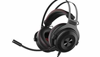 Docooler Wired Gaming Headphone Surround Sound Headset with Mic for PS4 PC Laptop Headphone Ajazz
