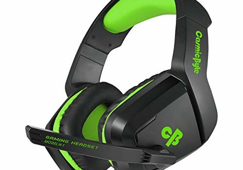 Cosmic Byte H1 Gaming Headphone with Mic for PC, Laptops, Mobile, PS4, Xbox One (Green)