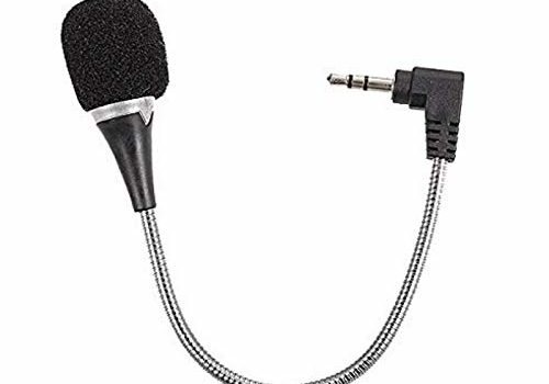 Shaarq Digital Noise Cancellation Clip Collar Mic Condenser for YouTube Video | Interviews | Lectures | News | Travel Videos Mike for Mobile