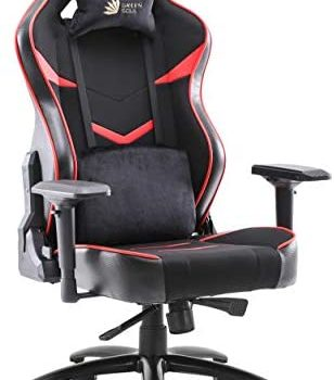 Green Soul Monster Ultimate (S) Multi-Functional Ergonomic Gaming Chair (GS-734US) (Black & Red) (Large Size)