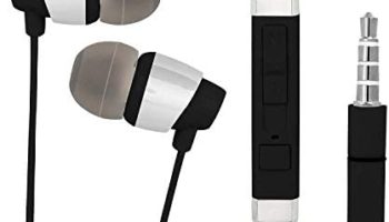 In-Ear Headphone For Samsung Galaxy A12 In- Ear Headphone   Earphones   Headphone  Handsfree   Headset   Universal Headphone   Wired   MIC   Music   3.5mm Jack   Calling Function   Earbuds   Microphone  Bass Bost Sound   Flat Wired Earphone  Original Earphone like Performance Best High Quality Sound Earphones Compatible With All Andriod Smartphone, MP3 Players, Mobile, Laptops DX800- Black