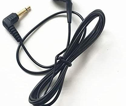 Single Side Earphone in-Ear Mono Earbuds Disposable Headphone Low Cost Ear Buds for One Ear